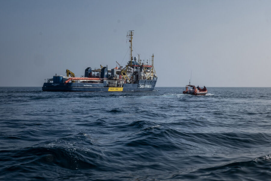 01 Mediterranean Sea Watch Deadliest Border Rescue Mission Migration Selene Magnolia 2021 02 19 2193410
