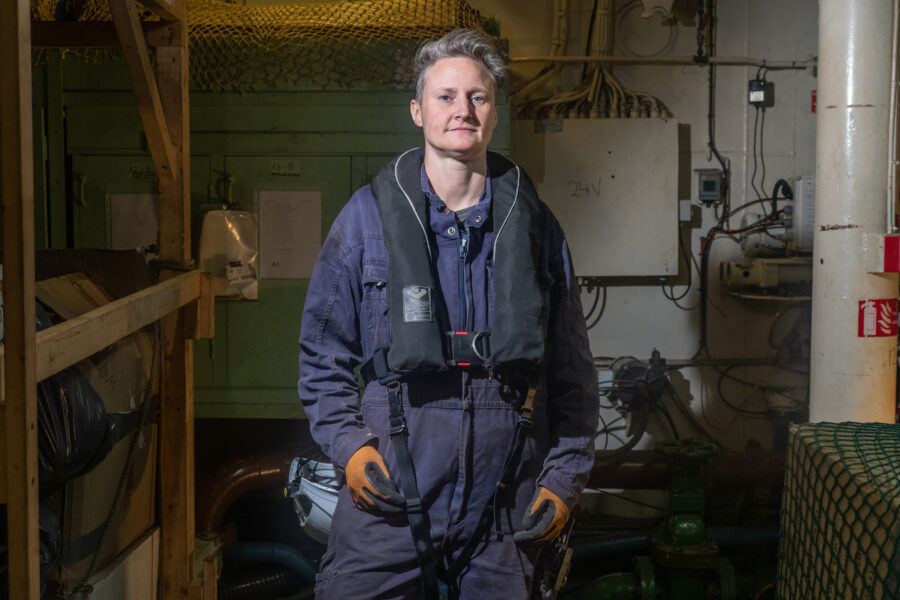 04 Selene Magnolia Portrait Woman Seawatch Rescue Ship 2021 02 20 2201909