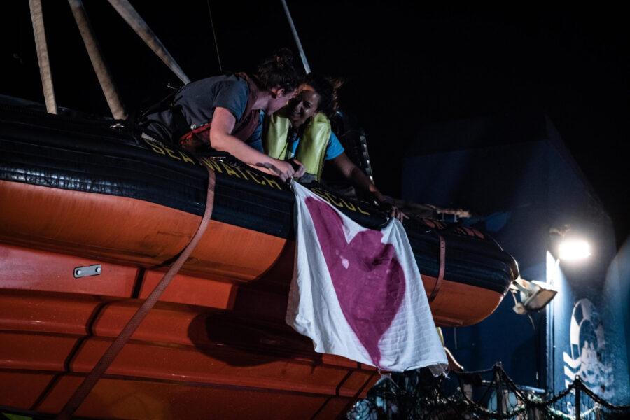 08 Sea Watch 3 Arriving Lampedusa Standoff Carola Rackete Mediterranean Selene Magnolia