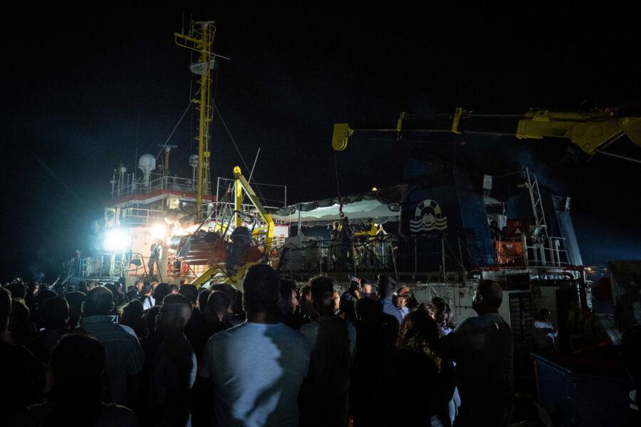 09 Sea Watch 3 Arriving Lampedusa Standoff Carola Rackete Mediterranean Selene Magnolia