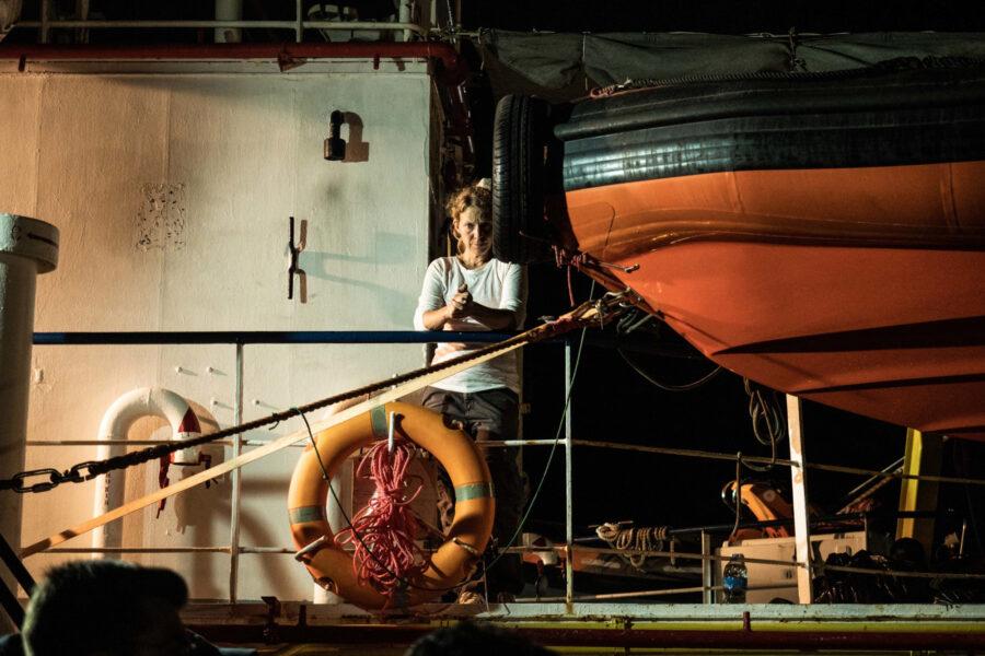 11 Sea Watch 3 Arriving Lampedusa Standoff Carola Rackete Mediterranean Selene Magnolia