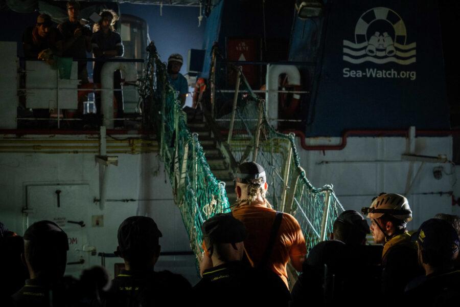 13 Sea Watch 3 Arriving Lampedusa Standoff Carola Rackete Mediterranean Selene Magnolia