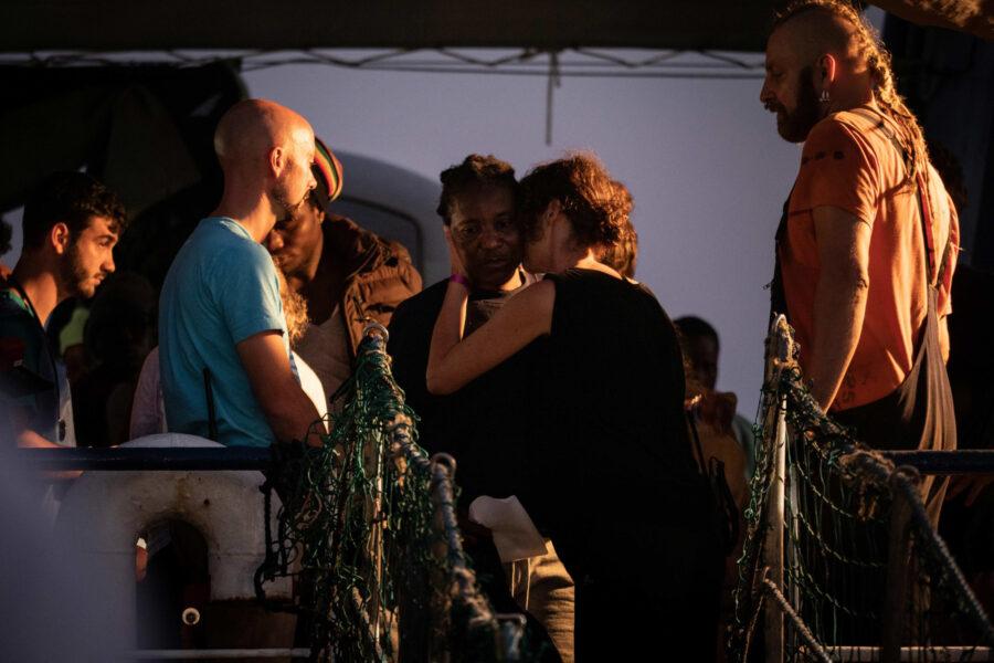 14 Sea Watch 3 Arriving Lampedusa Standoff Carola Rackete Mediterranean Selene Magnolia