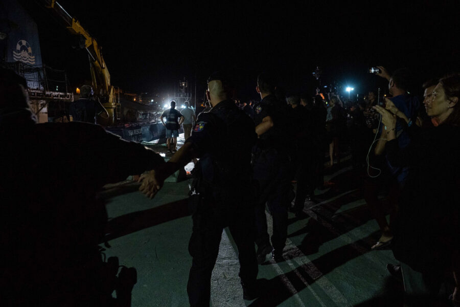 19 Sea Watch 3 Arriving Lampedusa Standoff Carola Rackete Mediterranean Selene Magnolia