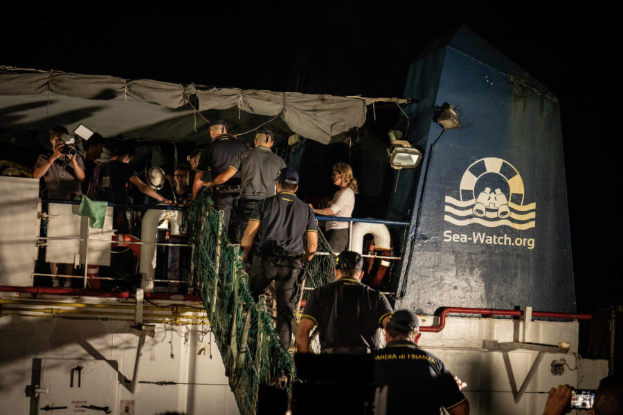 21 Sea Watch 3 Arriving Lampedusa Standoff Carola Rackete Mediterranean Selene Magnolia