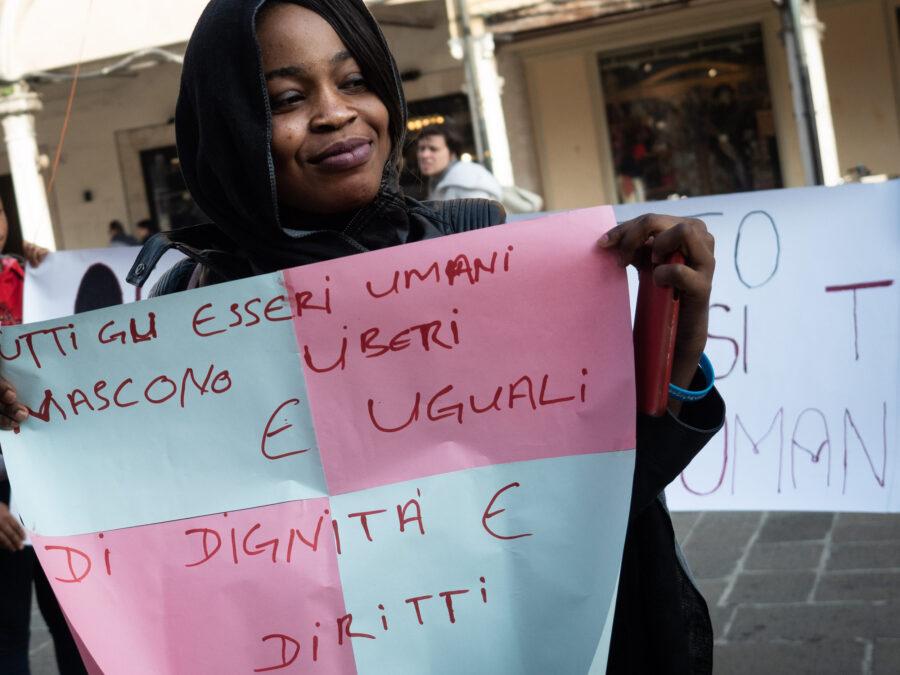 22 Resilienza Centro Donna Giustizia Nigerian Women Migration Representation Selene Magnolia