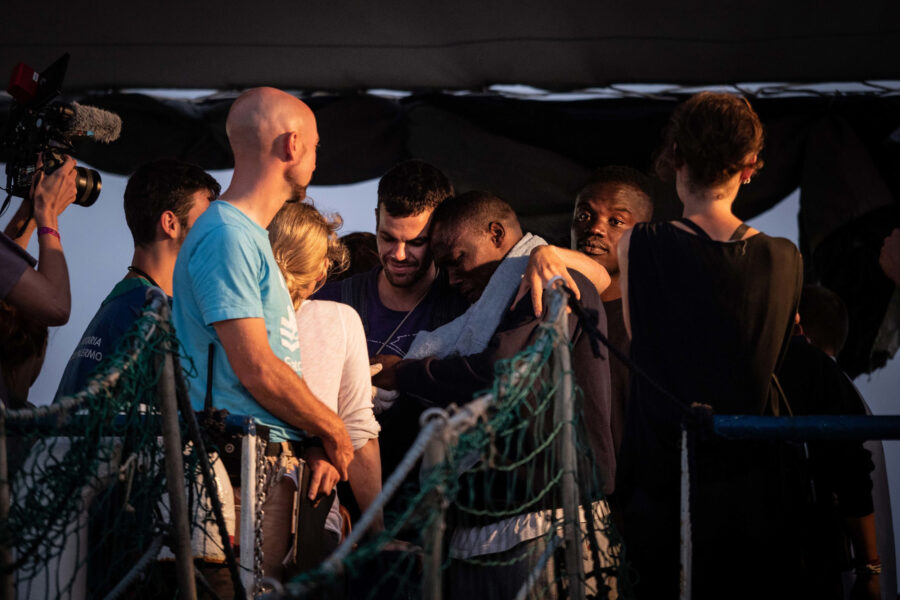 23 Sea Watch 3 Arriving Lampedusa Standoff Carola Rackete Mediterranean Selene Magnolia