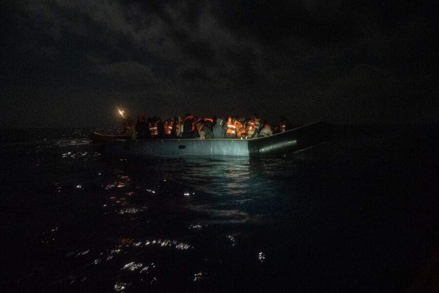 February The 28th, Sar Zone. Night Rescue Of 73 People.