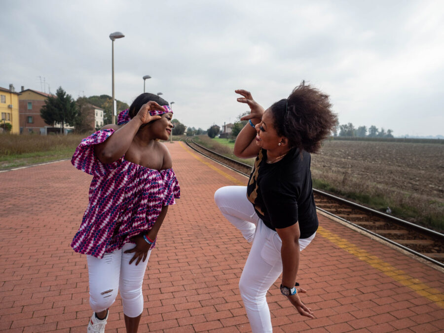 27 Resilienza Centro Donna Giustizia Nigerian Women Migration Representation Selene Magnolia