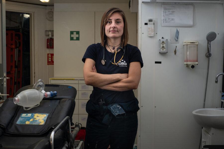 44 Mediterranean Sea Watch Crew Portrait Rescue Mission Migration Selene Magnolia 2021 02 12 2120803